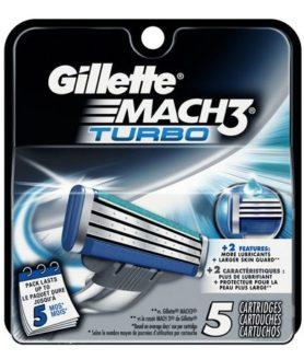 gillette mac3 turbo 5s