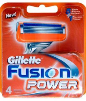gillette fusion power 4 blades