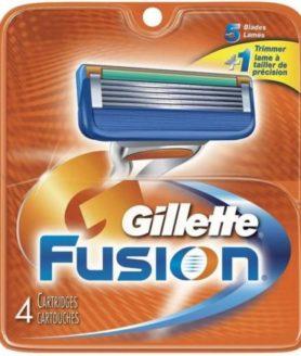 gillette fusion 4s
