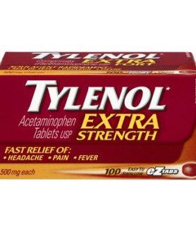 tylenol extra strength 100 ez