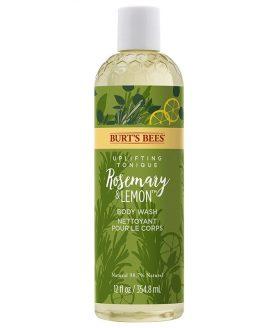 burts bees rosemary lemon body wash