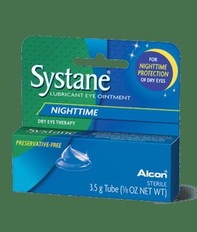 systane nighttime eye ointment