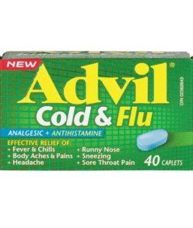 Advil Cold & Flu Caplets - 40's