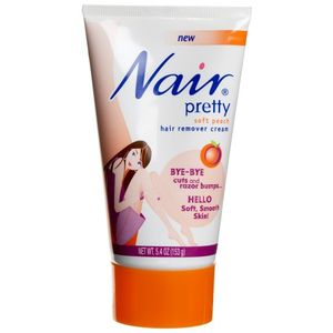 Nair Pretty Hair Remover Cream Soft Peach University Pharmacy