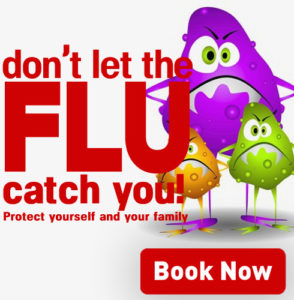 Book Your Flu Shot Now!