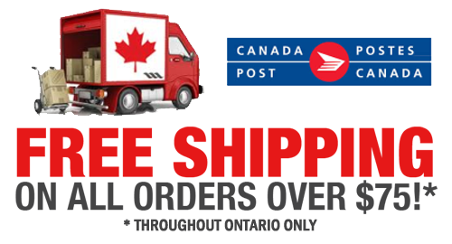 free shipping on all orders over $75.00