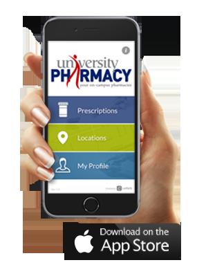 university pharmacy app