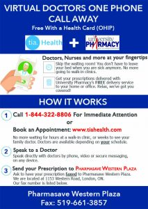 TiaHealth + Pharmasave Western Plaza