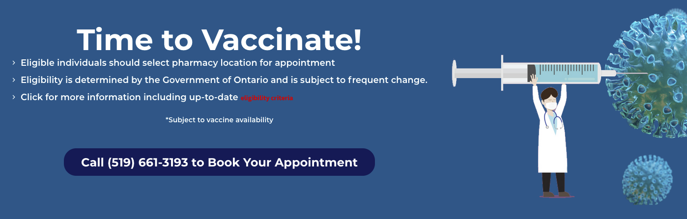 book your covid vaccination today